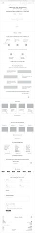 Wireframes + Brand Writing + Microcopy