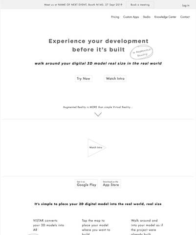 Wireframes + Core Messaging + UX Copywriting