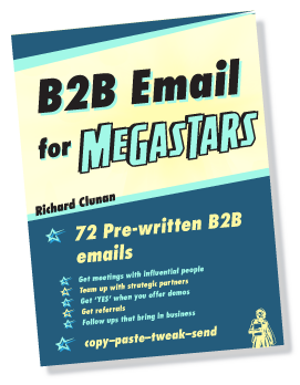 B2B Email for Megastars