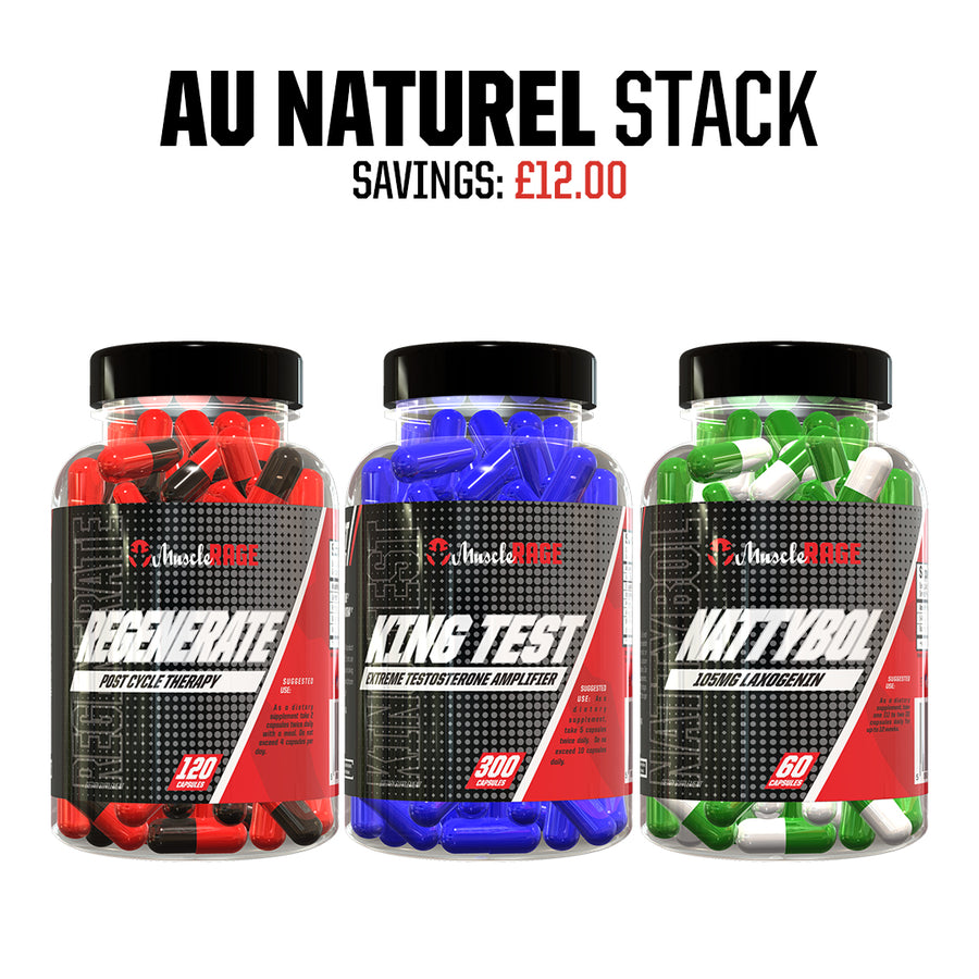 AU NATUREL STACK -  Muscle Rage