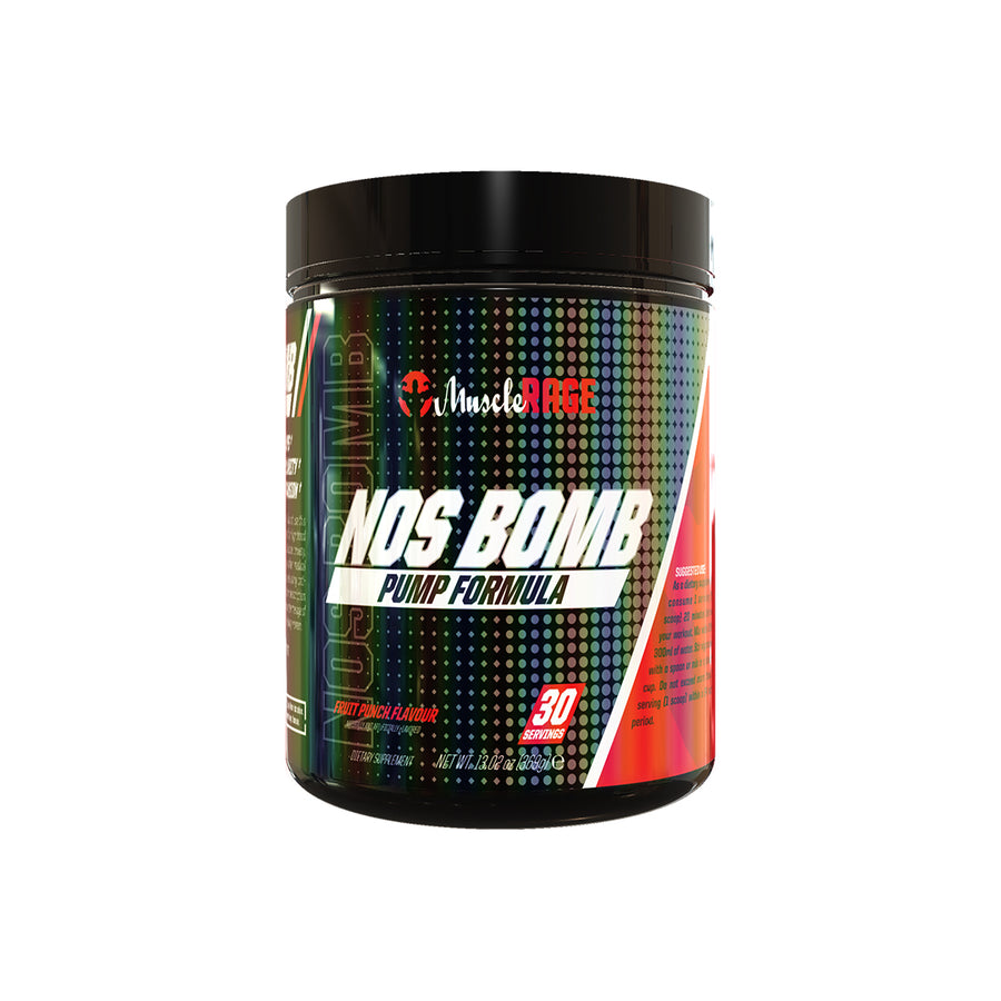 NOS BOMB - Pump Supplement -  Muscle Rage