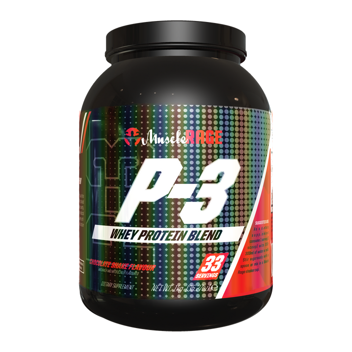 P-3 - Whey Protein Blend -  Muscle Rage