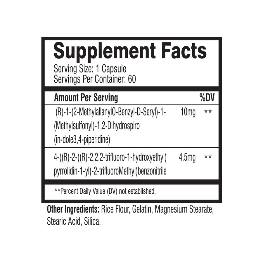 MuscleRage - The Ultimate Supplement Facts