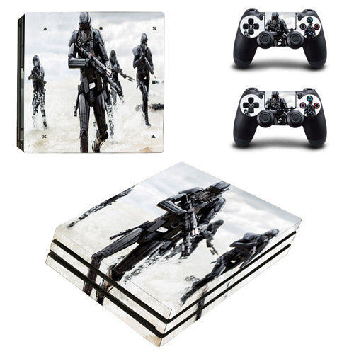 Destiny 2 PS4 Pro Skin Sticker Decal Vinyl for Playstation 4 Console and 2  Controllers PS4 Pro Skin Sticker