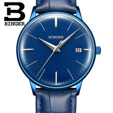 Load image into Gallery viewer, BINGER Luxury Men Mechanical Watch Made with Stainless Steel