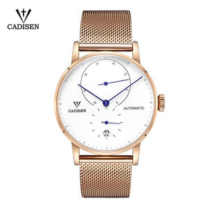 Luxury Automatic Mechanical Watch Men Full Steel Waterproof