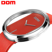Load image into Gallery viewer, DOM Luxury Brand Fashion Elegant Lady  Women's Watch