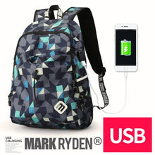 Load image into Gallery viewer, Mark Ryden Backpack with Nylon Material Escolar