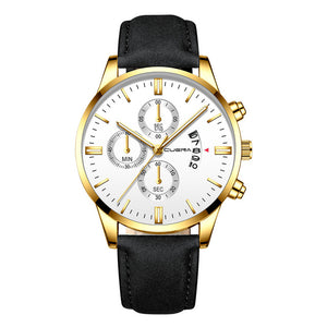 Man Crystal Stainless Steel Sport Analog Quartz Wrist Watch USPS