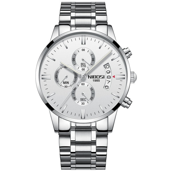 Men Luxury Fashion Watch Made with Stainless Steel