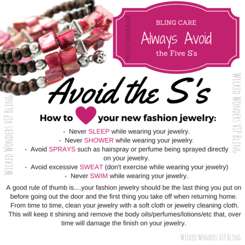 Bling Care - How to Care for Your New BLING