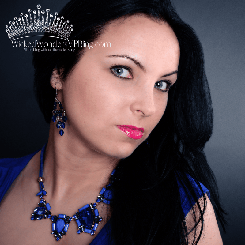 Blue Necklaces at Wicked Wonders