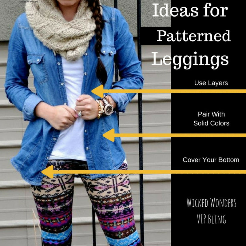 How to Wear and Style Fun Leggings!