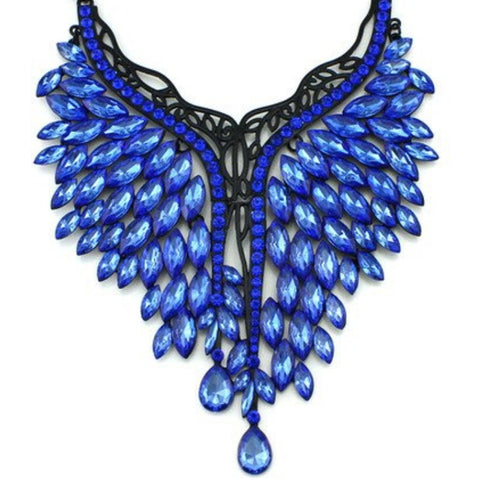 Calling All Angels Blue Necklace