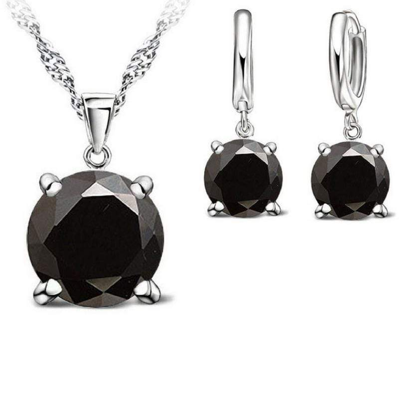 Wicked Wonders VIP Bling Bling Set Bubble Pop Electric Black Gem Dainty Set Affordable Bling_Bling Fashion Paparazzi