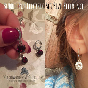 Wicked Wonders VIP Bling Bling Set Bubble Pop Electric Blue Gem Dainty Set Affordable Bling_Bling Fashion Paparazzi