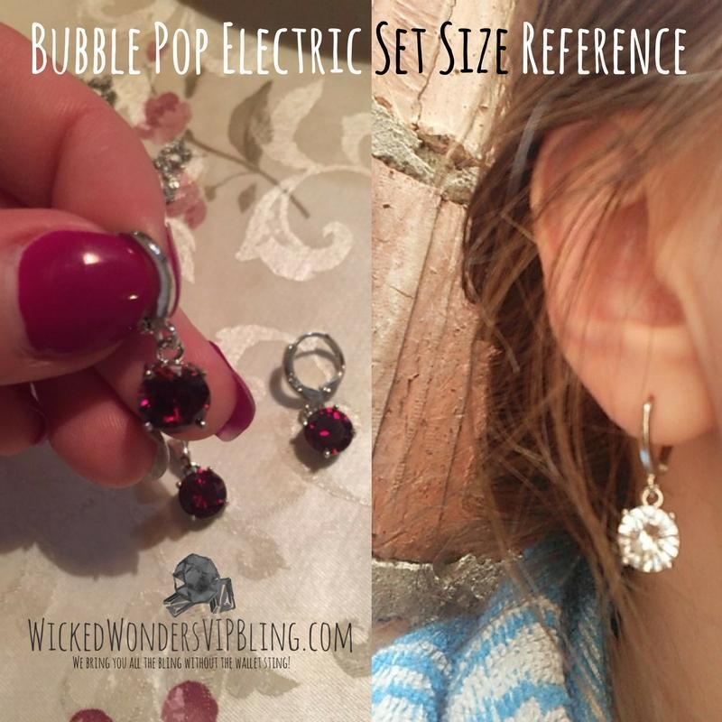 Wicked Wonders VIP Bling Bling Set Bubble Pop Electric Red Gem Dainty Set Affordable Bling_Bling Fashion Paparazzi