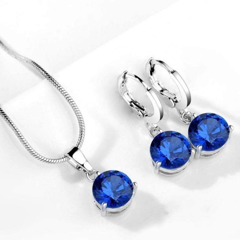 Wicked Wonders VIP Bling Bling Set Drops of Jupiter Bright Royal Blue Gem Set Affordable Bling_Bling Fashion Paparazzi