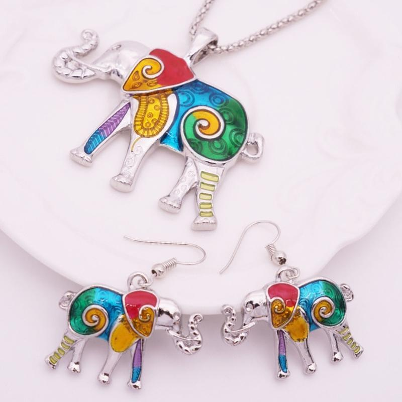 Wicked Wonders VIP Bling Bling Set Elephant in the Room Multi Color Set Affordable Bling_Bling Fashion Paparazzi