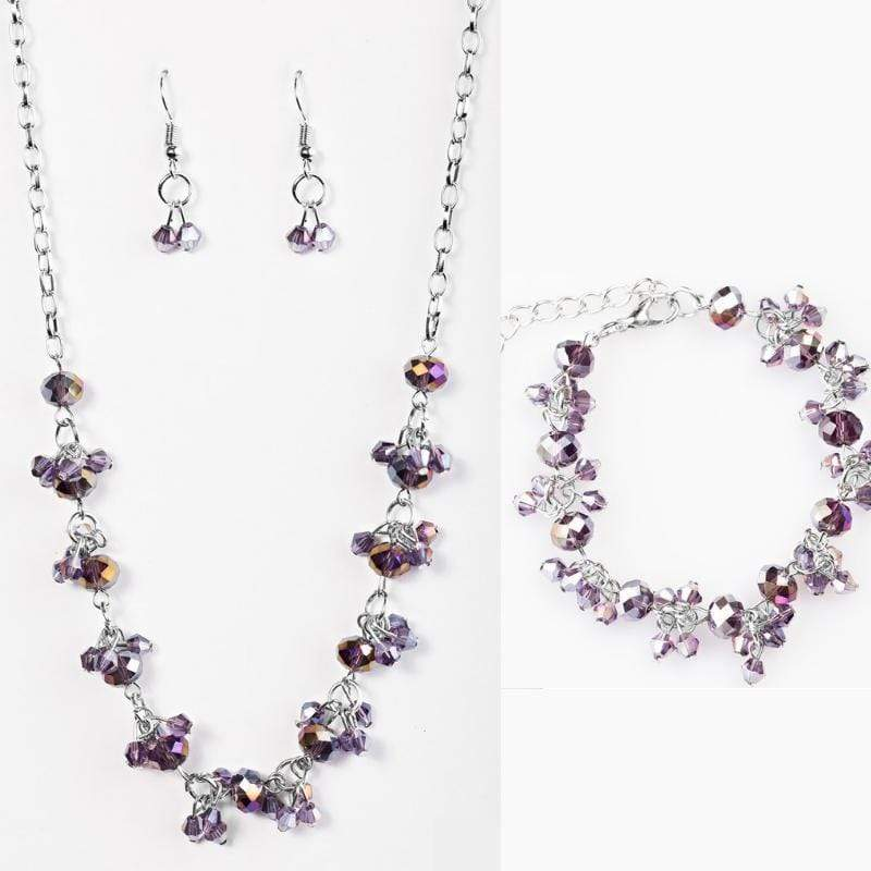 Wicked Wonders VIP Bling Bling Set Leading Starlight Purple Super Sparkle Set Affordable Bling_Bling Fashion Paparazzi