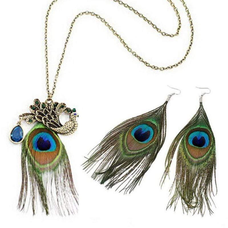 Wicked Wonders VIP Bling Bling Set Peacock Secret Feather Set Affordable Bling_Bling Fashion Paparazzi
