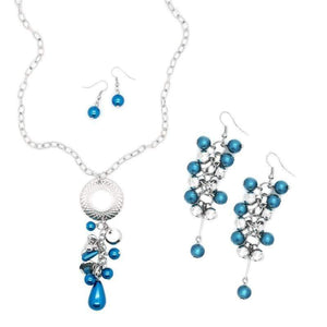 Wicked Wonders VIP Bling Bling Set Pulling Out All the Stops Blue Set Affordable Bling_Bling Fashion Paparazzi