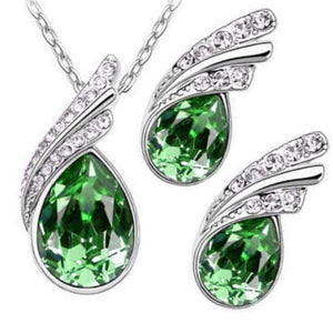 Wicked Wonders VIP Bling Bling Set Royal Queen Green Gem Set Affordable Bling_Bling Fashion Paparazzi