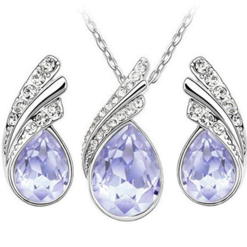 Wicked Wonders VIP Bling Bling Set Royal Queen Lavender Gem Set Affordable Bling_Bling Fashion Paparazzi