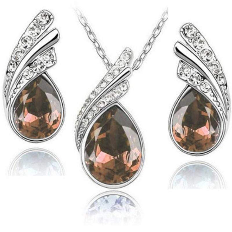 Wicked Wonders VIP Bling Bling Set Royal Queen Light Brown Gem Set Affordable Bling_Bling Fashion Paparazzi