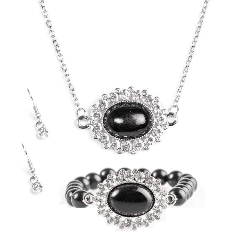 Wicked Wonders VIP Bling Bling Set Stardom Shine Black Set Affordable Bling_Bling Fashion Paparazzi