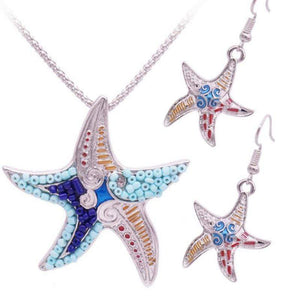 Wicked Wonders VIP Bling Bling Set Starfish Ride Multi Color Set Affordable Bling_Bling Fashion Paparazzi