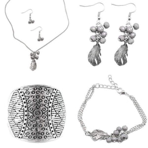 Wicked Wonders VIP Bling Bling Set Sunset Sightings Trend Blend So Fly Lilac Gray Set Affordable Bling_Bling Fashion Paparazzi