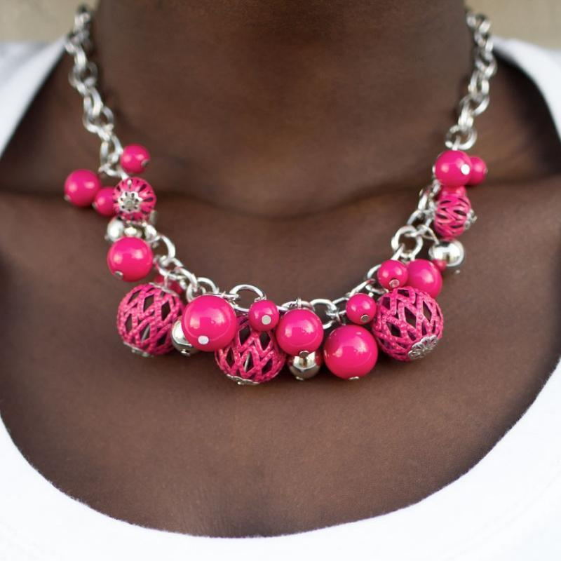 Wicked Wonders VIP Bling Bling Set The Louvre and Eiffel Pink Set Affordable Bling_Bling Fashion Paparazzi
