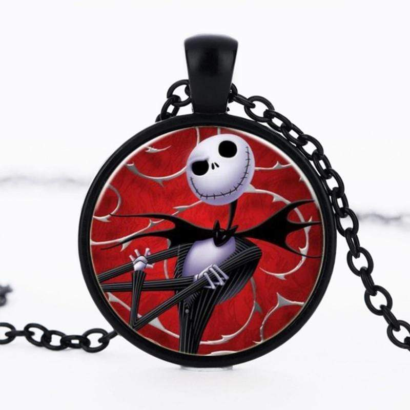 Wicked Wonders VIP Bling Bling Set The Nightmare Before Christmas Red Jack Skellington Set Affordable Bling_Bling Fashion Paparazzi
