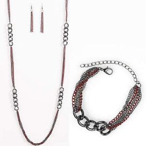 Wicked Wonders VIP Bling Bling Set The World Series Red Set Affordable Bling_Bling Fashion Paparazzi