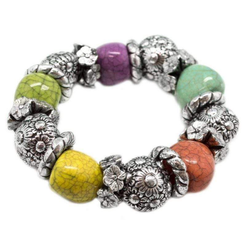 Wicked Wonders VIP Bling Bracelet A La Mode Multi-Colored Stretchy Bracelet Affordable Bling_Bling Fashion Paparazzi