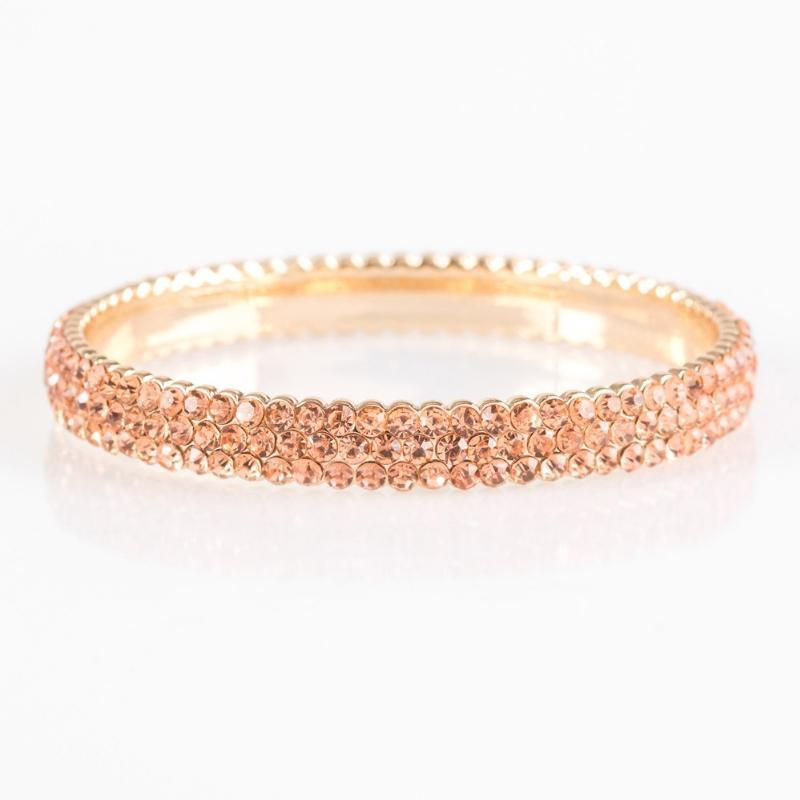 Wicked Wonders VIP Bling Bracelet Ballroom Bling Gold Bangle Bracelet Affordable Bling_Bling Fashion Paparazzi