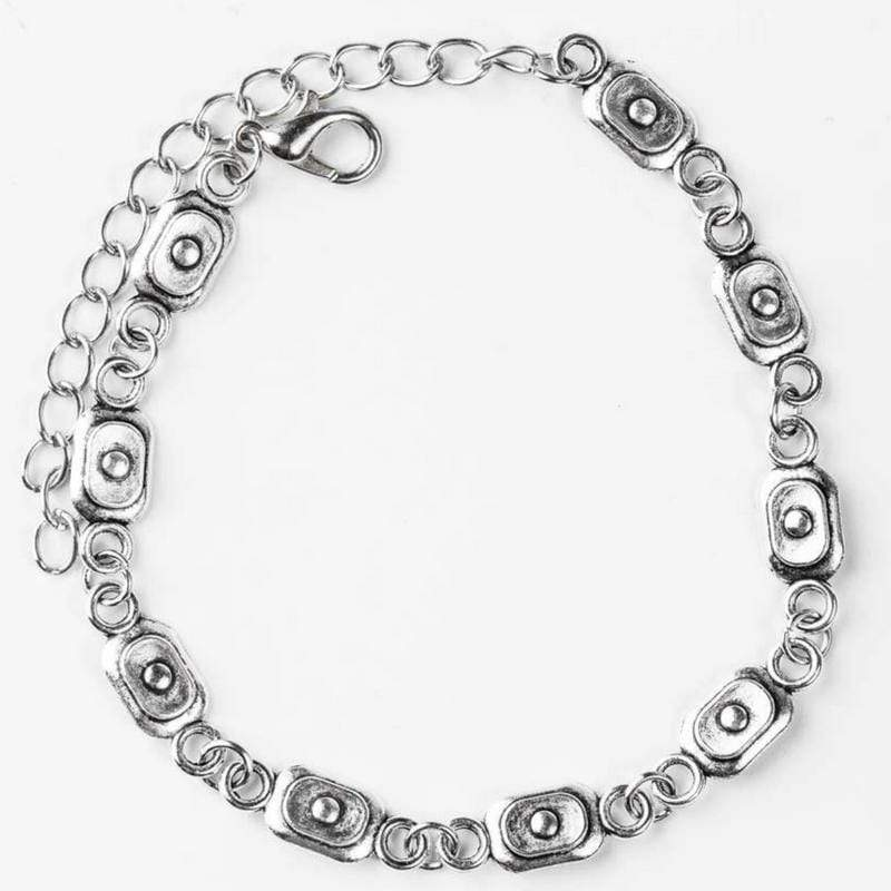 Wicked Wonders VIP Bling Bracelet Basic Training Silver Bracelet Affordable Bling_Bling Fashion Paparazzi