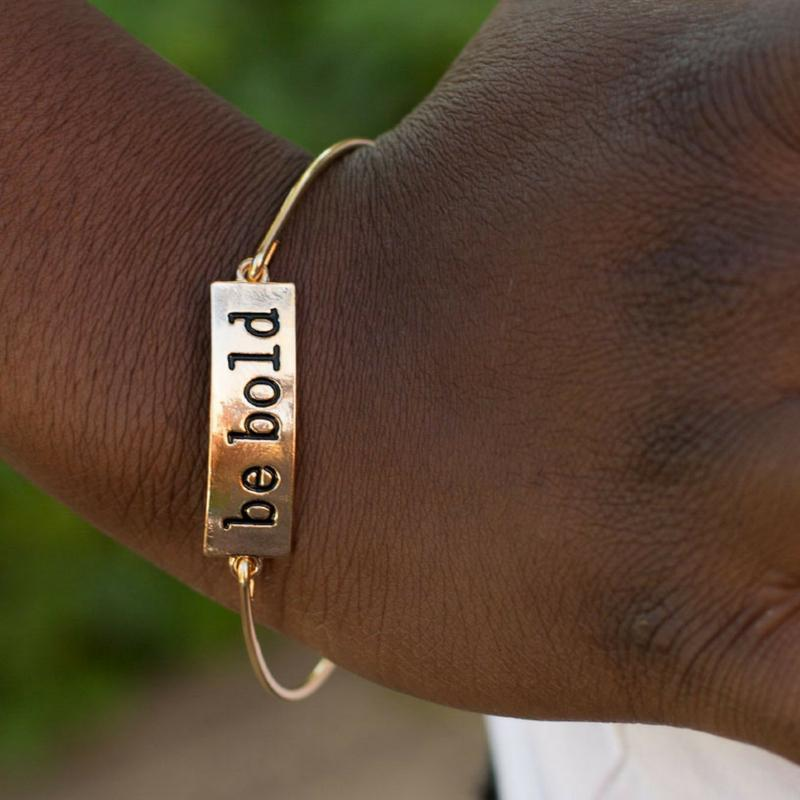 Wicked Wonders VIP Bling Bracelet Be BOLD Gold Bracelet Affordable Bling_Bling Fashion Paparazzi