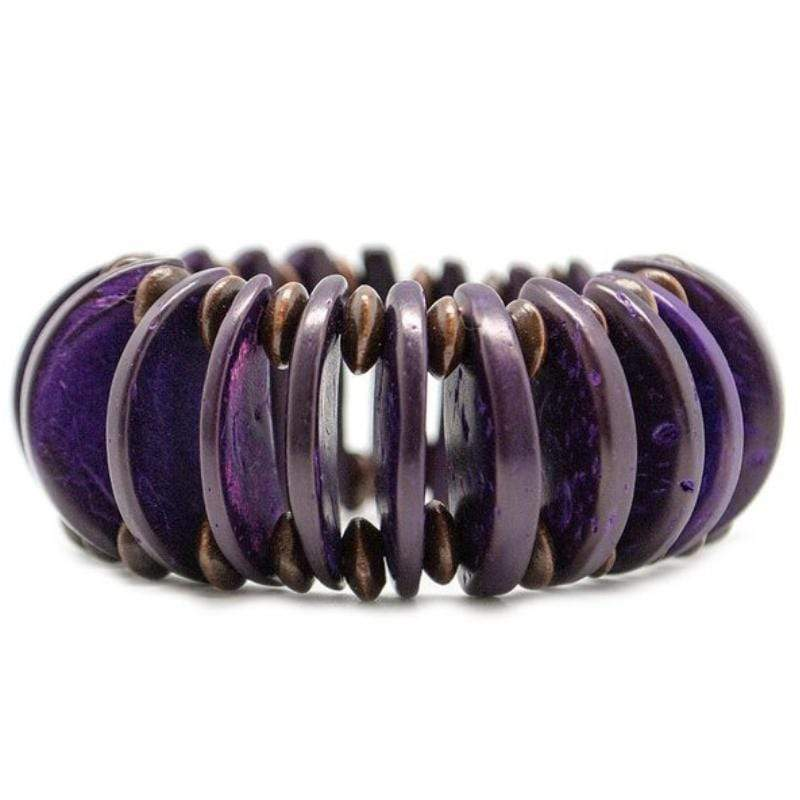 Wicked Wonders VIP Bling Bracelet Days of Summer Purple Stretchy Bracelet Affordable Bling_Bling Fashion Paparazzi