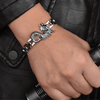 Wicked Wonders VIP Bling Bracelet Dragon Force Stainless Steel Man Bracelet Affordable Bling_Bling Fashion Paparazzi