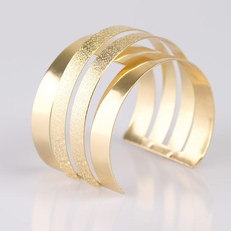 Wicked Wonders VIP Bling Bracelet Enchantress Gold Cuff Bracelet Affordable Bling_Bling Fashion Paparazzi