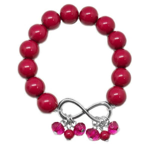 Wicked Wonders VIP Bling Bracelet Forevermore Pink Stretchy Bracelet Affordable Bling_Bling Fashion Paparazzi