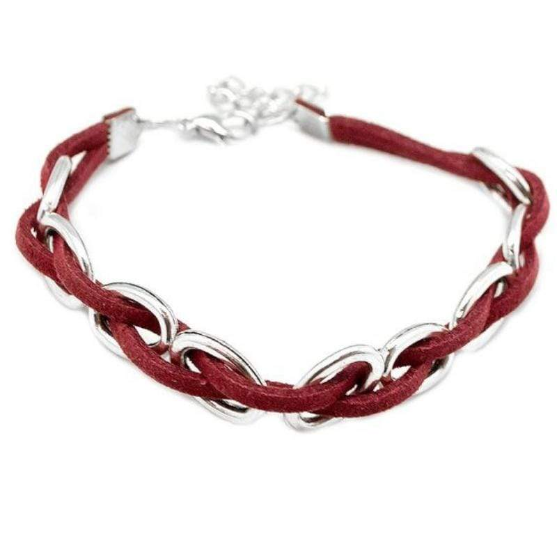Wicked Wonders VIP Bling Bracelet Hard to PerSUEDE Red Bracelet Affordable Bling_Bling Fashion Paparazzi