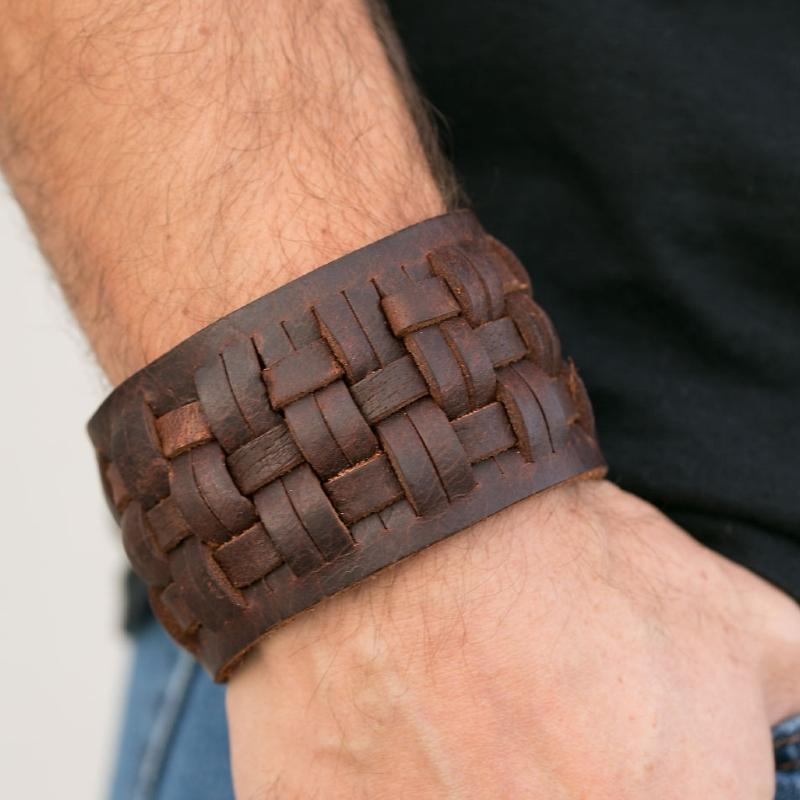 Wicked Wonders VIP Bling Bracelet Hustle and Hit Brown Urban Man Bracelet Affordable Bling_Bling Fashion Paparazzi