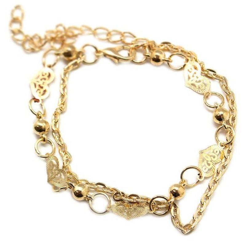 Wicked Wonders VIP Bling Bracelet In the Name of Love Gold Bracelet Affordable Bling_Bling Fashion Paparazzi