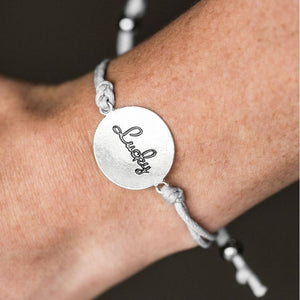 Wicked Wonders VIP Bling Bracelet Its My Lucky Day Silver Bracelet Affordable Bling_Bling Fashion Paparazzi