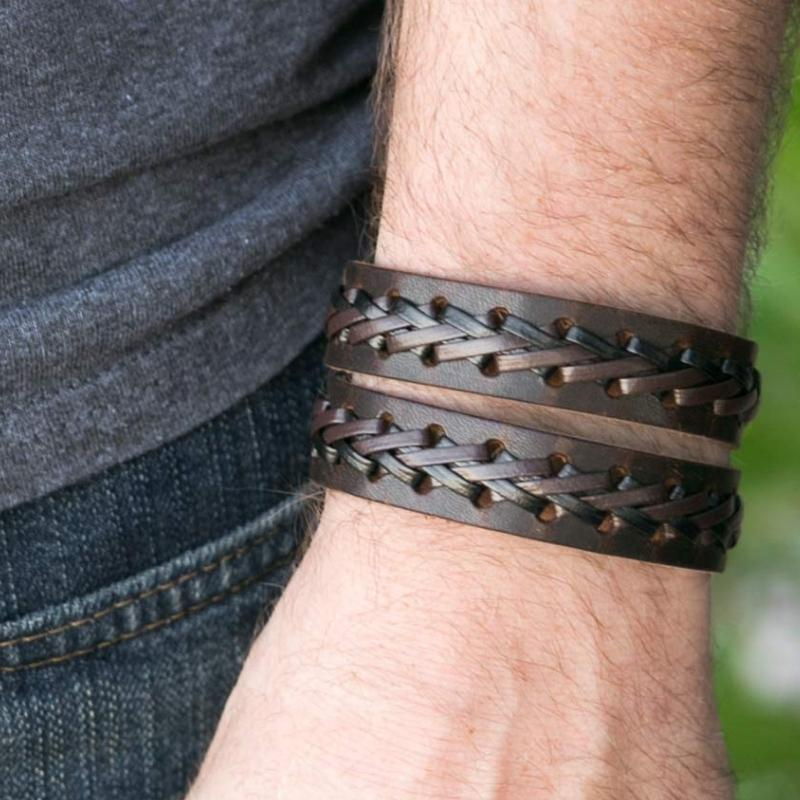 Wicked Wonders VIP Bling Bracelet Leave it On the Field Brown Urban Bracelet Affordable Bling_Bling Fashion Paparazzi