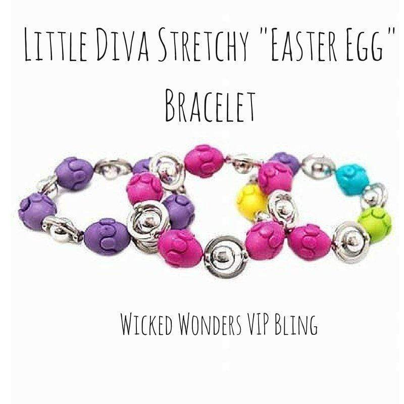 Wicked Wonders VIP Bling Bracelet Little Diva Stretchy
