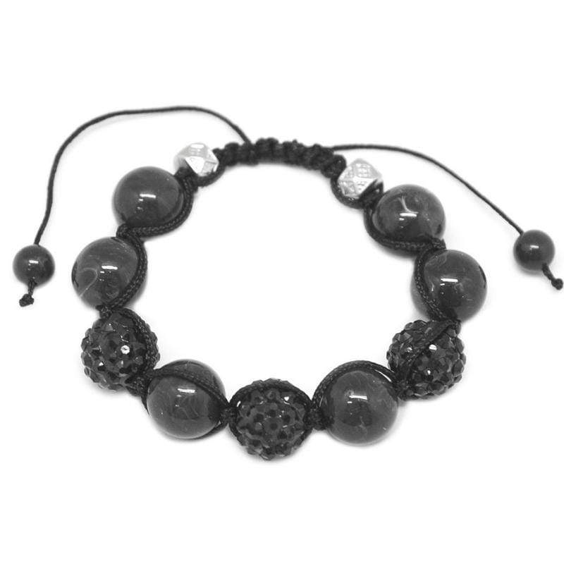 Wicked Wonders VIP Bling Bracelet Lookin' Sharp Black Bracelet Affordable Bling_Bling Fashion Paparazzi